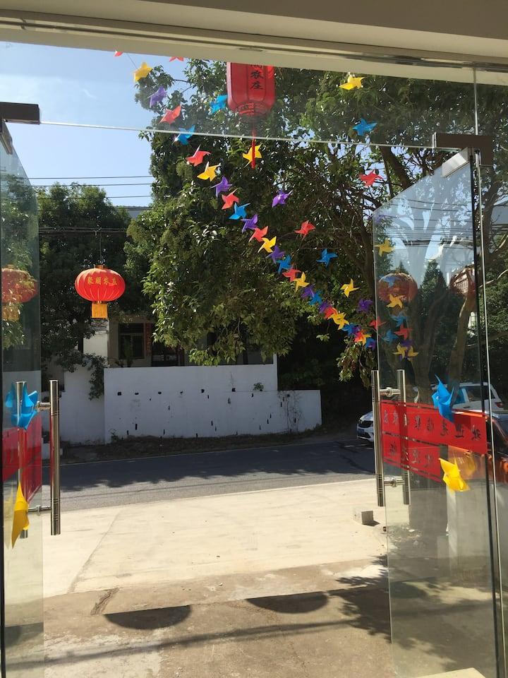 武汉黄陂农家小院儿(临近胜天农庄,野村谷,玫瑰园,木兰草原等特色景点