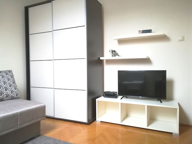 Comfy apartment in Belgrade for two