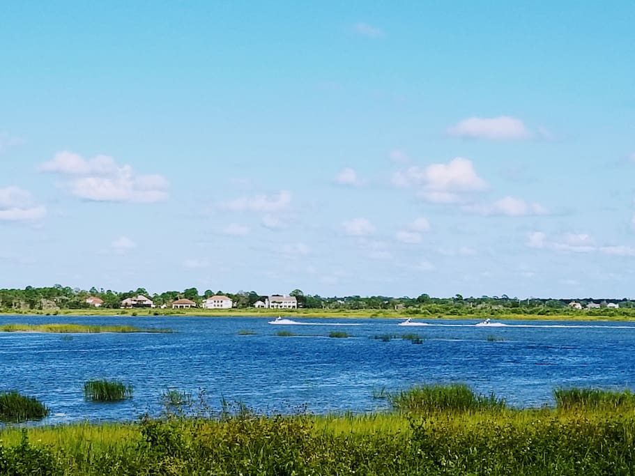 Intracoastal view from our house