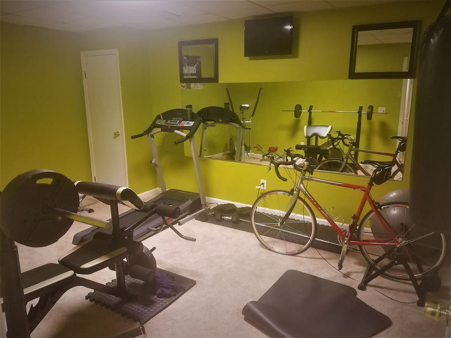 ACCESS TO HOME GYM