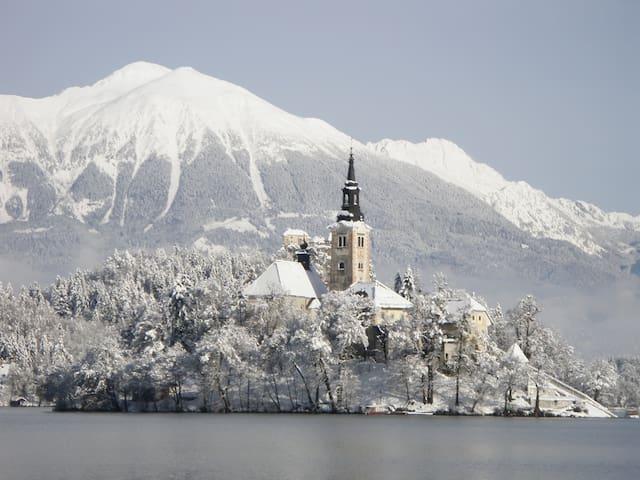 Winter Bled island