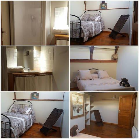Location chambres double  proche du MEZENC - Saint-Martin-de-Fugères - Casa