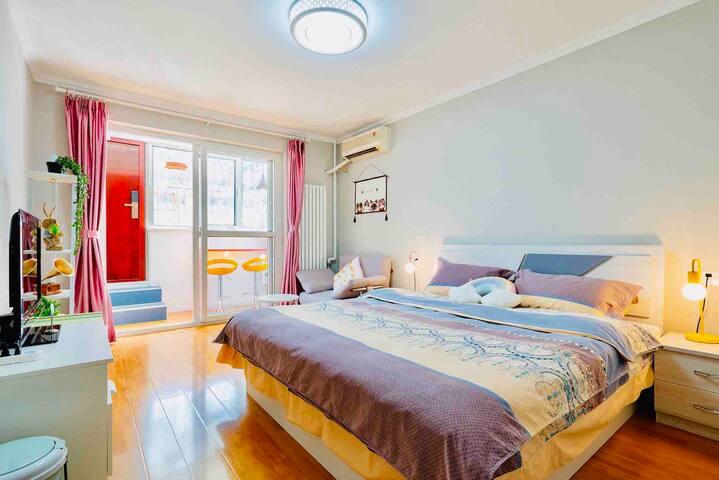 【东禾小屋】二环内温馨舒适两居,临近核心景点