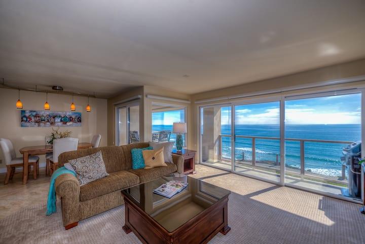 Seascape Sur Ocean Front - Whitewater Views!