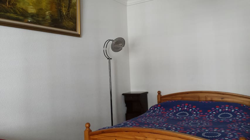 Spatious bedroom in front of main Square & River - Ženeva - Byt