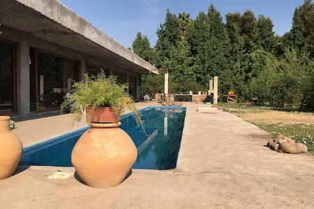 Cabaña Independiente en Parcela - Chicureo - Bed & Breakfast
