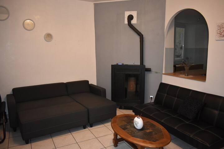 Appartement a Sierck les Bains 47 m2 tout équipé.