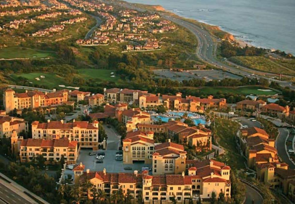 Resort Arial View