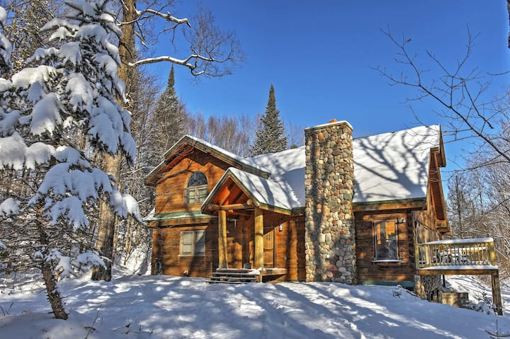 'Copper Lodge' Modern 3BR Gleason Cabin!