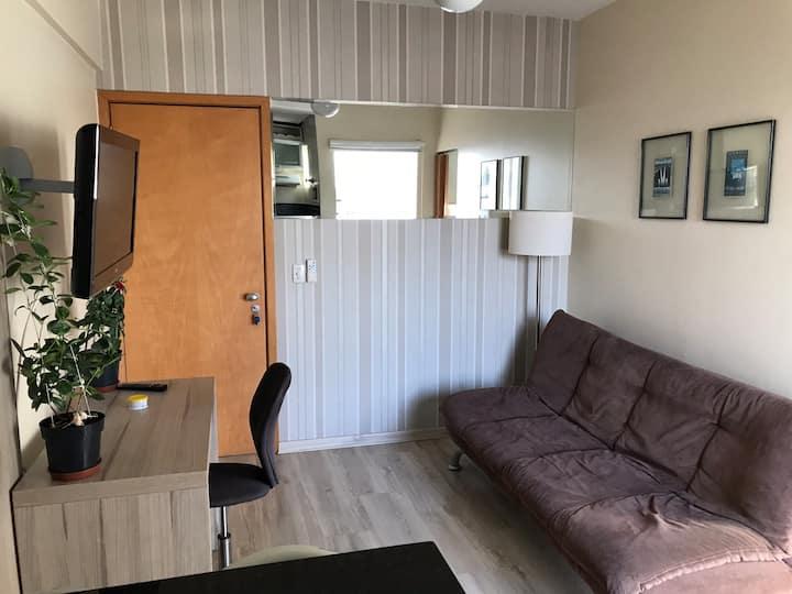 Apartamento confortável  no setor sul.
