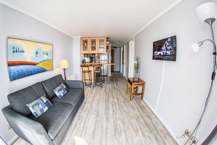 Nice 2 Bedroom apartment in Providencia near Metro