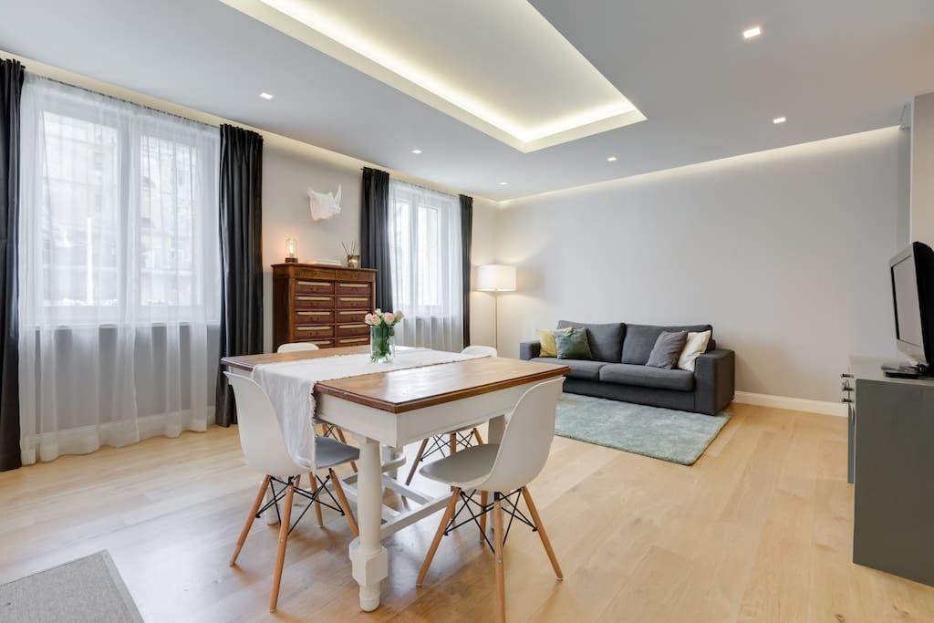 Open Space Living Room