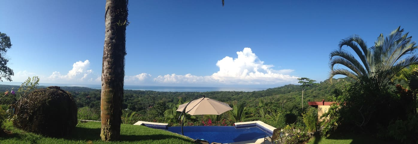 Pool and the ocean and Mountain Views