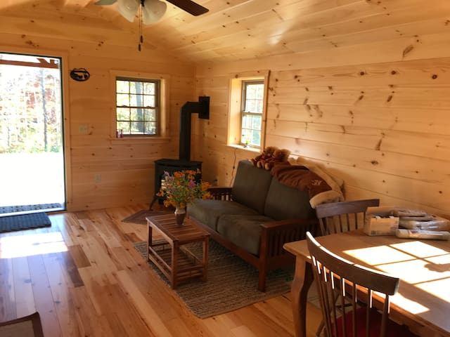Comfortable and cozy cabin in the Vermont woods!