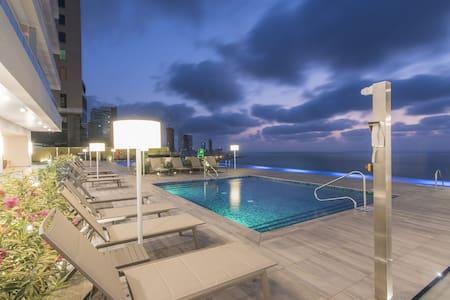 Luxe Hyatt h2 Condo- Bayfront 2501 Cartagena