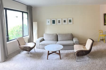 Spacious Modern 2 Bdr with Patio - 科提马德拉(Corte Madera) - 公寓