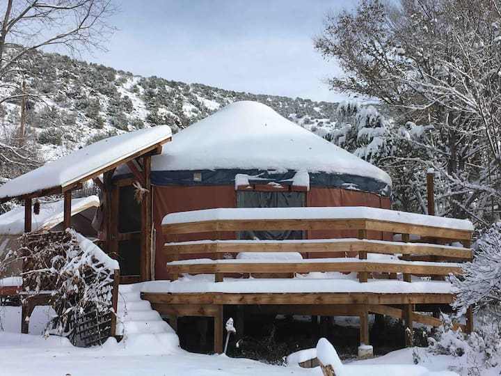 Enchantment Yurt with Breakfast