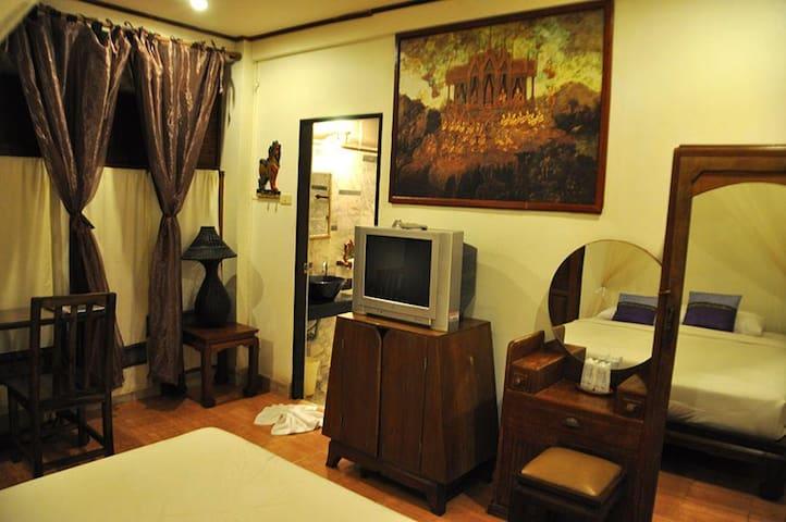 Exquisite Double Room in Sukhothai - Tambon Ban Suan - Leilighet