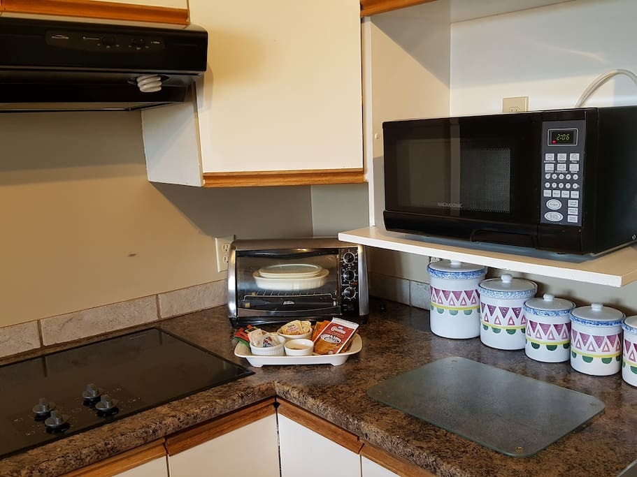 Your shared kitchen complete with coffee, tea and hot chocolate for you to enjoy