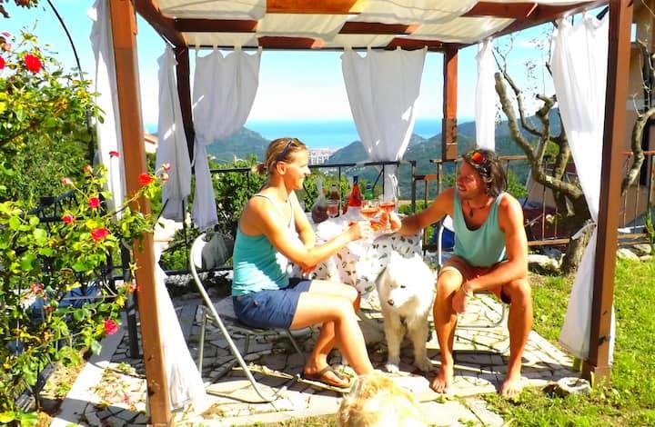 """Villa SolSerati - casa vacanze """"Climber-Biker"""""""