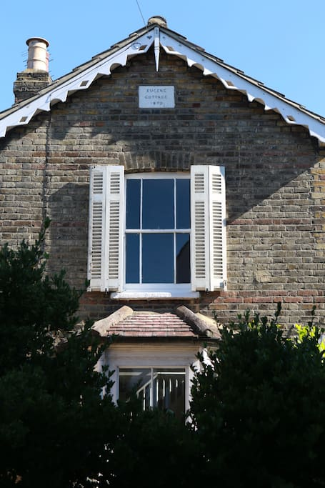 North elevation with some old French shutters