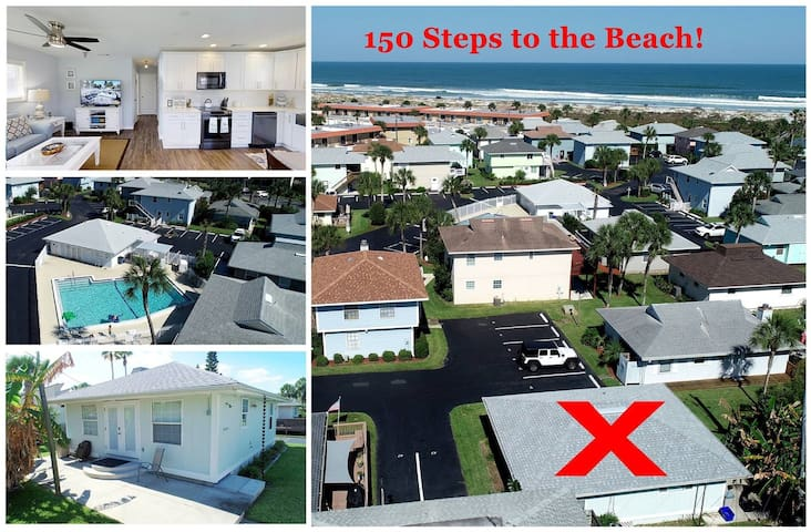SCV 45: 2 BR 1 Bath Cottage, Updated With a True Open, Bright and Airy Feel, located in an Ocean-Front Community with Pool and Pet Friendly