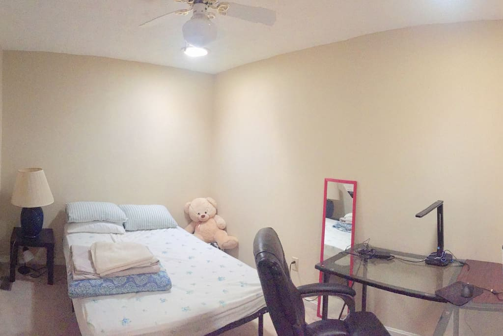 Additional room when required (+$20)