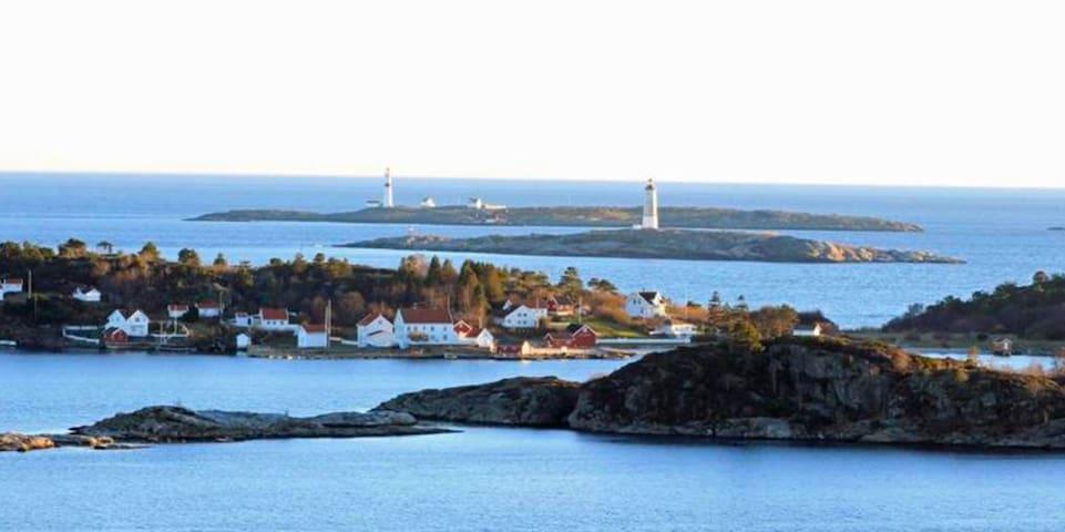Arendal flott beliggenhet på Tromøy