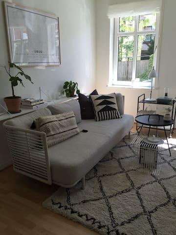 Centralt beliggende lejlighed med hyggelig have - Kolding - Квартира