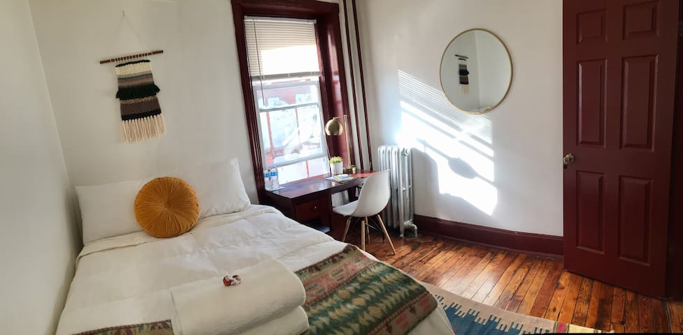 Cozy room! Parking! Near Drexel Penn Cafes & Parks - Philadelphia - Huis