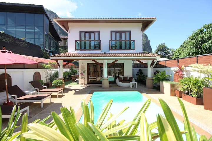 Canaan Villa Krabi - 5 Min to Aonang Beach