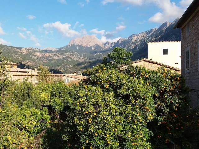 Lovely room with dramatic view to the Tramuntana