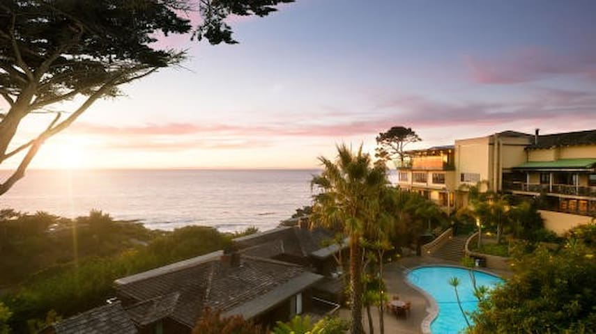 Outstanding location and views of Big Sur Coast.