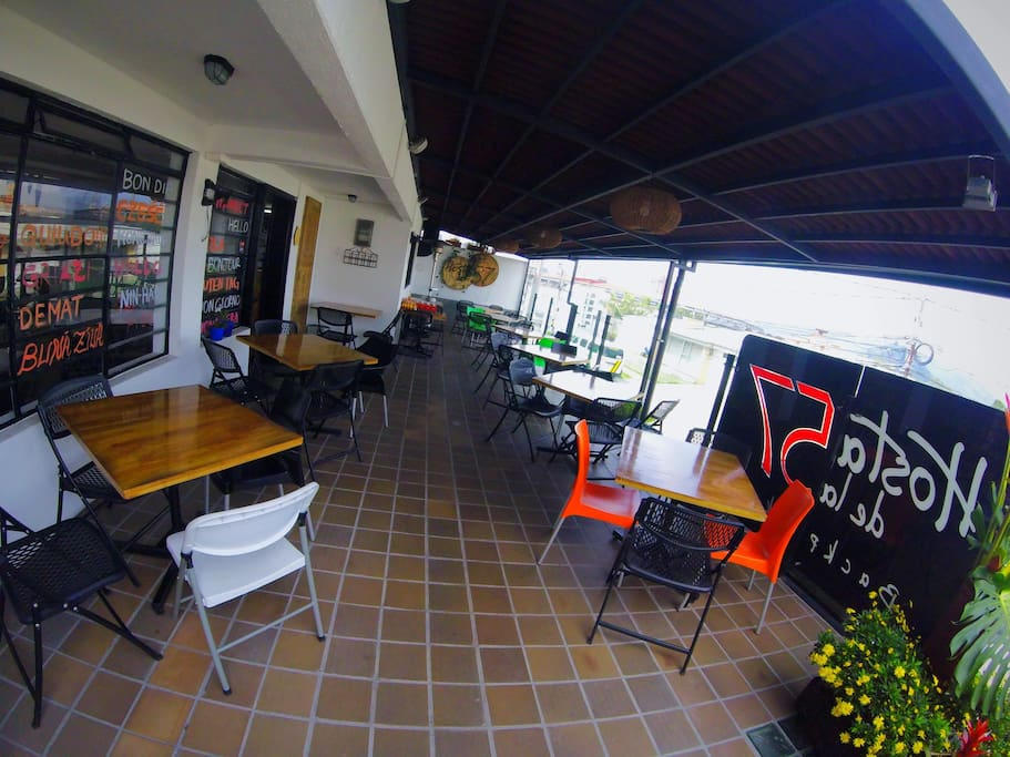 Zona restaurante-