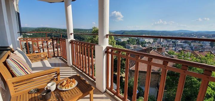 Villa Vitrage -  A cultural vantage point…