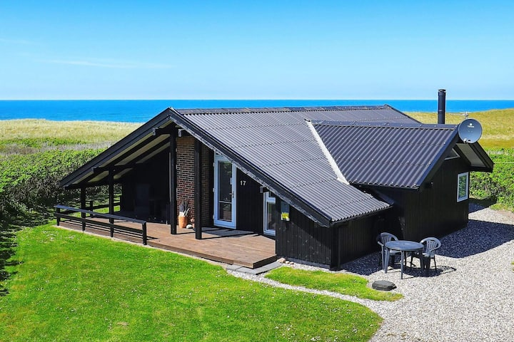 Quaint Holiday Home in Løkken Jutland With View of Ocean