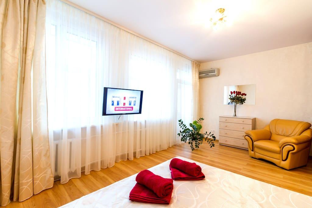 Спальня. TV