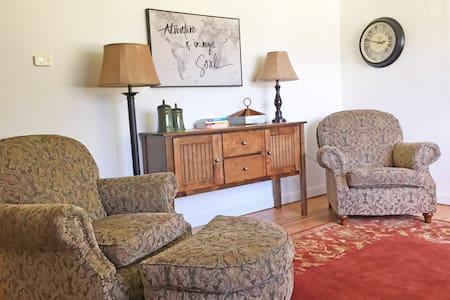 Convenient riverside cottage