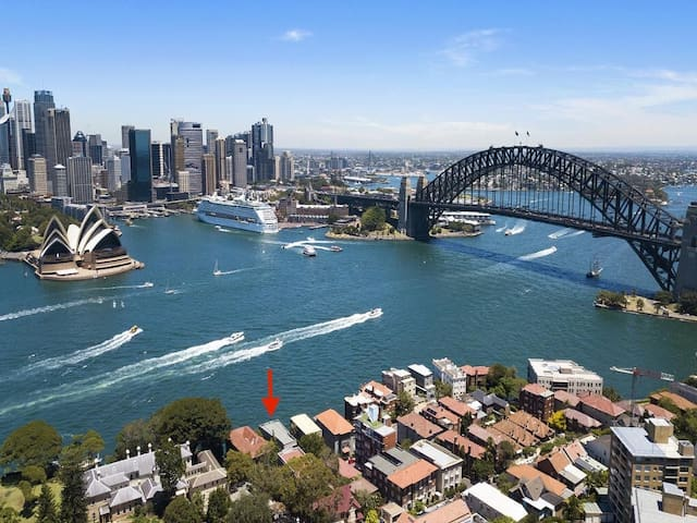 Kirribilli's waterfront dream view apartment!