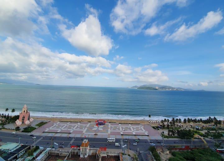 Crystali Family Ocean View 2 Bedrooms -Big Balcony