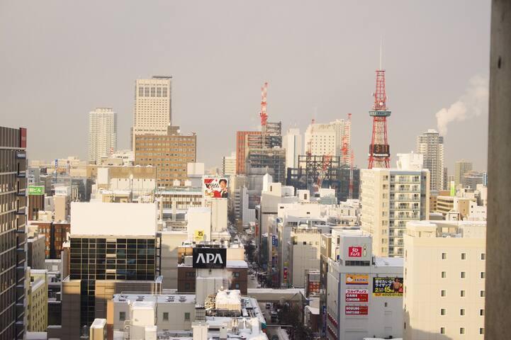 地下鉄駅徒歩30秒!繁華街すすきののタワーマンション! - Chūō-ku, Sapporo-shi - Квартира