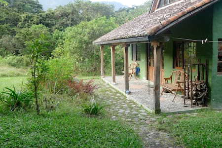 River-side House in the Intag Cloud Forest