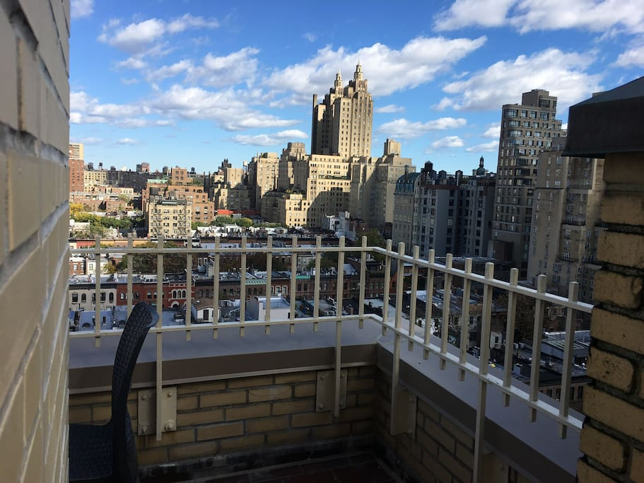 ...and unobstructed views of the Upper West Side.