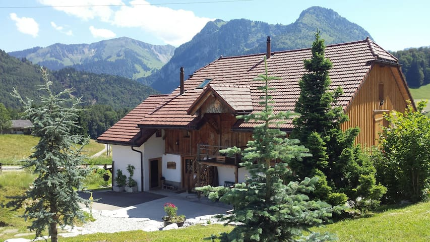 Mountain house - Haut-Intyamon - Casa