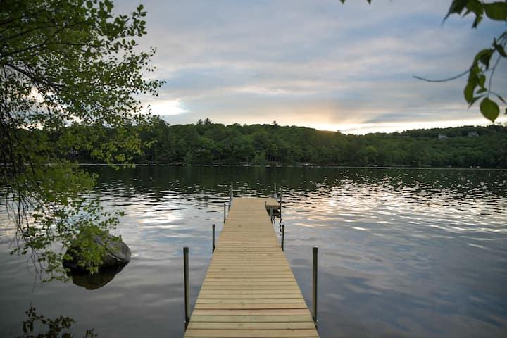 Get away at Crystal Lake