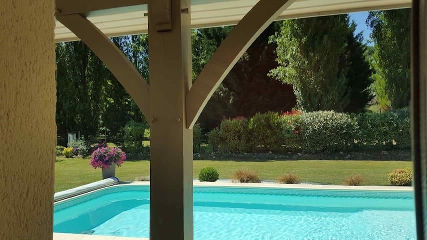 Villa au cœur de la Gascogne armagnacaise