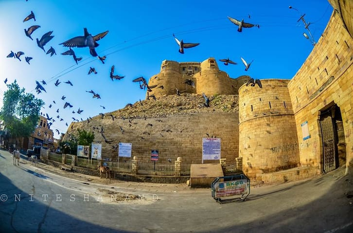 TRADITIONAL STAY IN JAISALMER