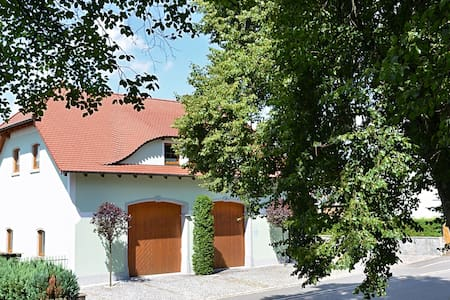 Large apartment located directly at the Jakobsweg - two complete residential units, private garden