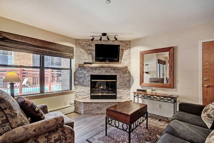 Spacious Studio Condo in the Heart of Breckenridge