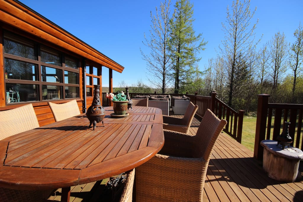 Great Patio and Relaxing Area